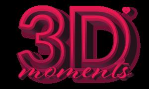 3Dmoments Logo
