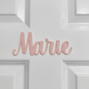 Name & Word Door Signs
